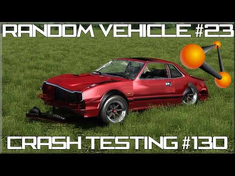video beamng drive random vehicle 23 crash testing 130 hd. Black Bedroom Furniture Sets. Home Design Ideas