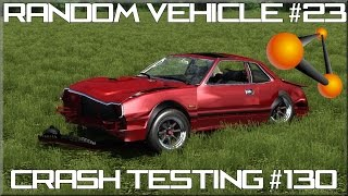 BeamNG Drive Random Vehicle #23 Crash Testing #130 HD