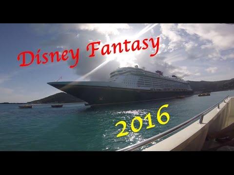 Disney Fantasy 7-Night Eastern Caribbean Cruise - 2016