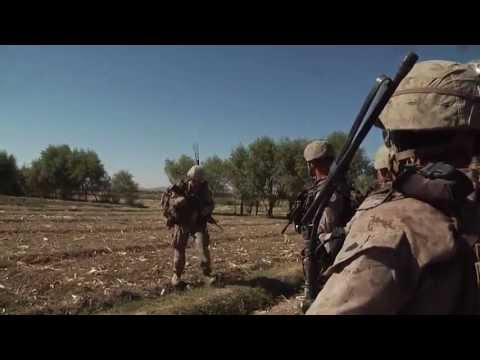 Marines Conduct Security Patrol In Musa Qala, Afghanistan - 3rd Battalion, 7th Marine Regiment