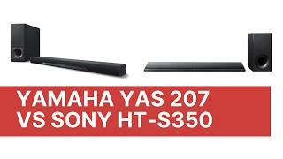 Yamaha YAS 207 vs Sony HT-S350
