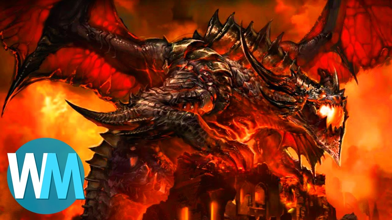 Red Fire Dragon: Top 10 Games Where You Fight A Freakin' Dragon!