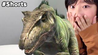Dinosaur IRL!? 恐竜出現!? #Shorts