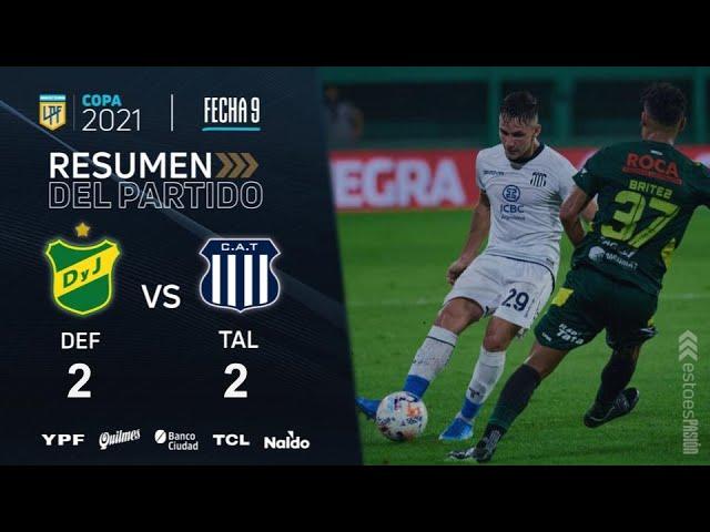 Copa De La Liga | Fecha 9 | resumen de Defensa y Justicia - Talleres