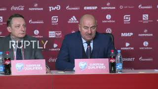 Russia: We could not play that good for 90 min – coach Cherchesov after loss to Belgium