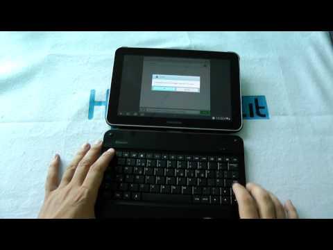 Tastiera originale Samsung per Galaxy Tab 8.9 e 10.1