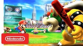 Mario Sports Superstars - Nintendo 3DS Baseball Trailer