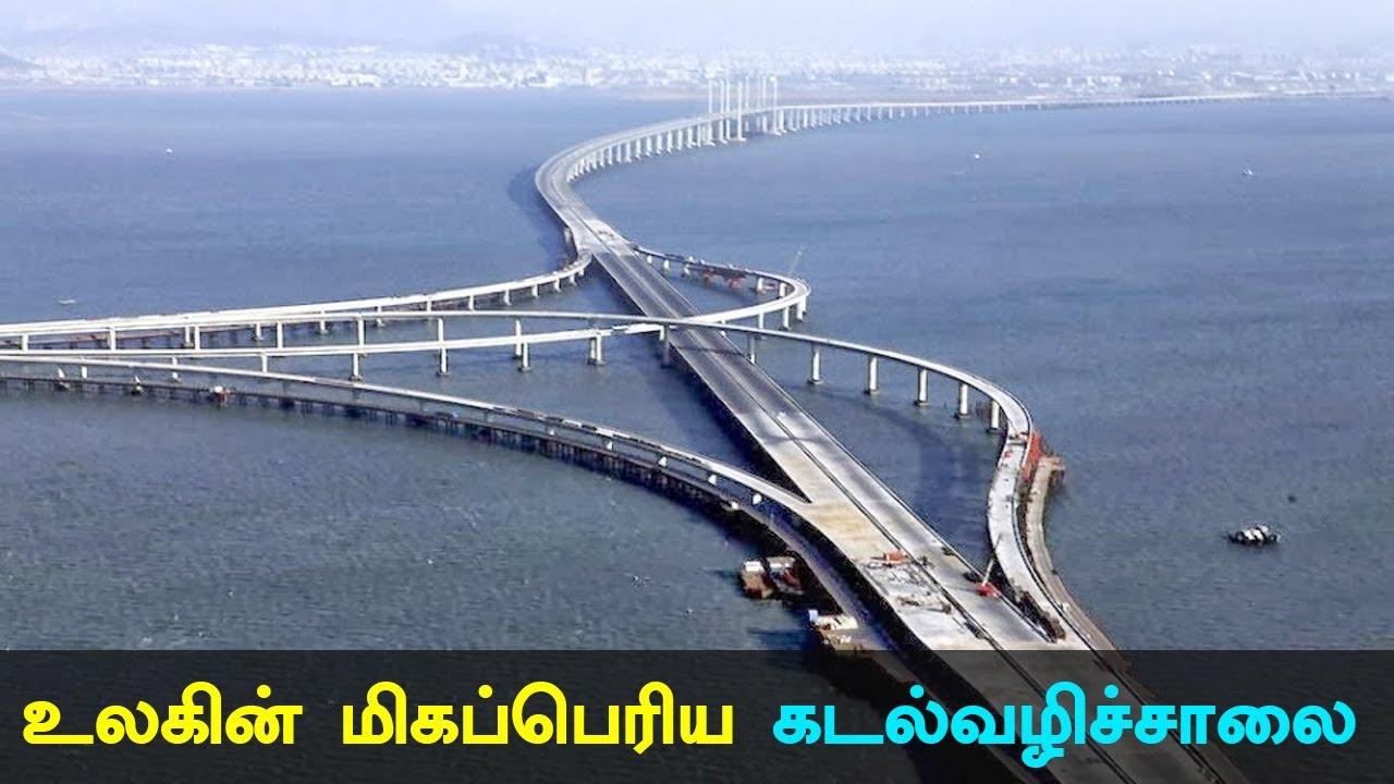 World's Longest Sea Bridge Opened in China #seabridge