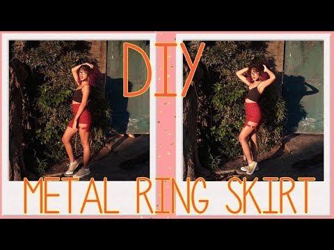 [DIY] Metal Ring Skirt