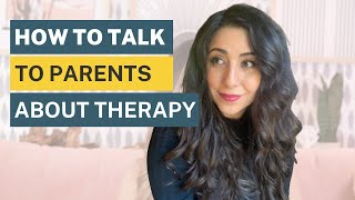 How To Ask Your Parents For Therapy | Mental Health Over Coffee | Micheline Maalouf