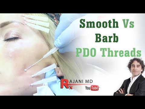 Barb VS Smooth PDO Threads