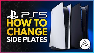PS5 Tutorial | H๐w to Change the Side Plates