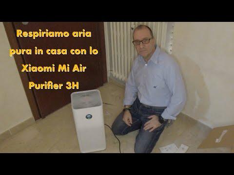 Respiriamo aria pura in casa con lo Xiaomi Mi Air Purifier 3H