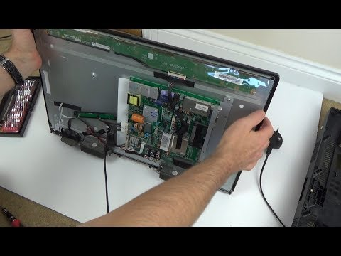 Trying To FIX: LCD TV With Smashed Screen