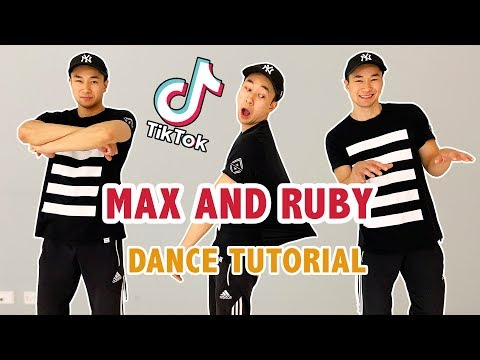 MAX AND RUBY TIK TOK (DANCE TUTORIAL) | Step By Step