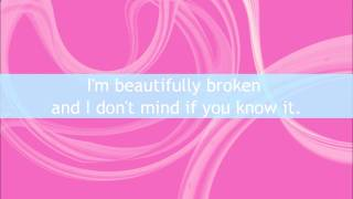 Beautifully Broken - Ashlee Simpson [LYRICS ON SCREEN]