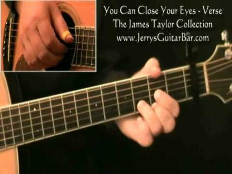 How To Play James Taylor You Can Close Your Eyes Introduction