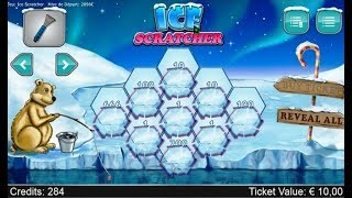Jeux à Gratter en ligne ICE SCRATCHER - Grattage de jeux en ligne. Un semblant de FDJ ?