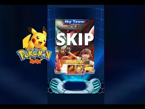 Pokemon Mega: Sky Tower Wipe Out All Skip Trick!