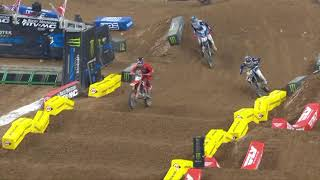 250SX Main Event Highlights - Round 3 - Houston