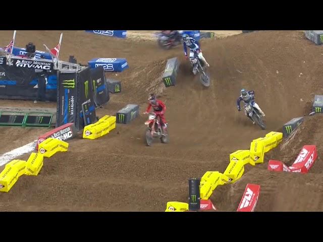 250SX Main Event Highlights - Round 3 - Houston