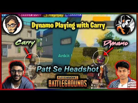 Dynamo *Playing With Carry* | Full Masti Dhamaal | Dynamo Gaming | CarryisLive | PUBG