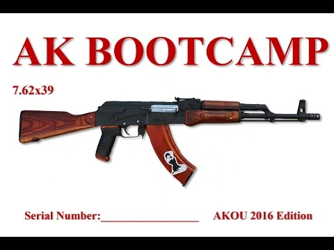 AK Bootcamp Booklet from AKOU - 7.62x39 version