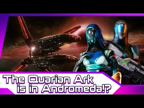 Mass Effect: Andromeda | The Quarian Ark Is In Andromeda?!