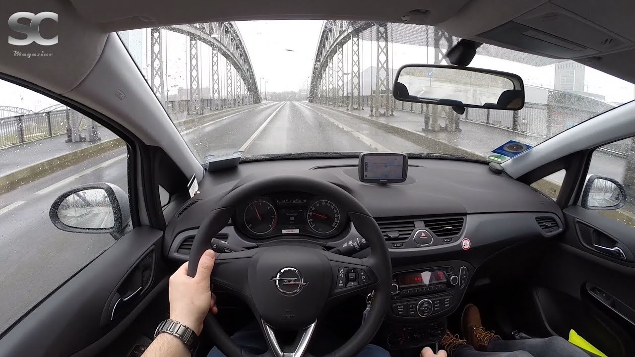 opel corsa e 1 3 cdti 2015 pov city drive youtube. Black Bedroom Furniture Sets. Home Design Ideas