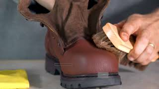 54143 Professional Shoe Shine Brush