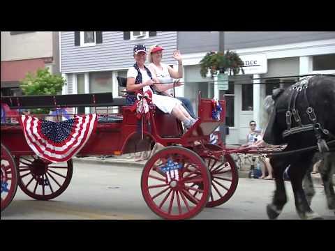 2017 Hometown Celebration Parade, Hartland, Wisconsin