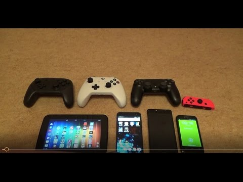 How to Connect Gaming Controllers to Android Phones & Tablets