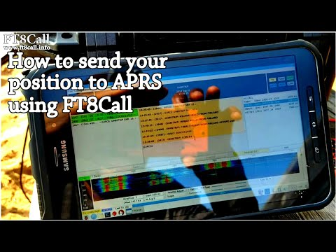 How To: Sending your position to APRS fi using FT8Call | JS8Call