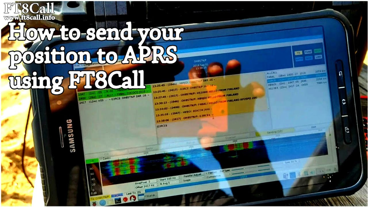 APRS OVER JS8Call FT8CALL? – OH8STN