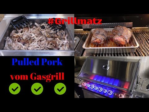 Pulled Pork I Weber Gasgrill : Pulled pork vom gasgrill super easy grillmatz youtube