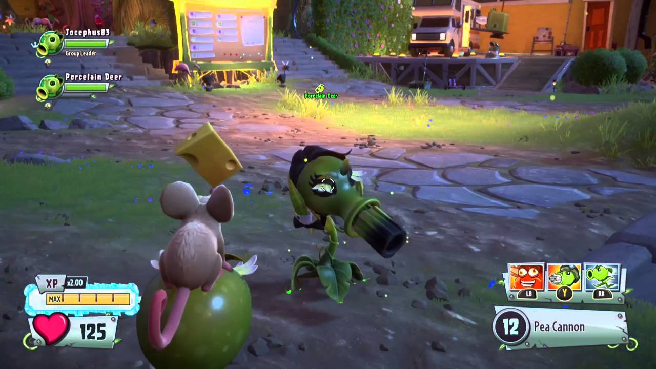 Plants vs  Zombies™ Garden Warfare 2 - dance of the peashooter