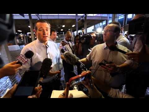 Sen. Ted Cruz On His Nationwide Support