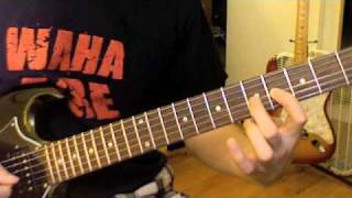 Guitar Lead Lesson: Taxman Solo By The Beatles