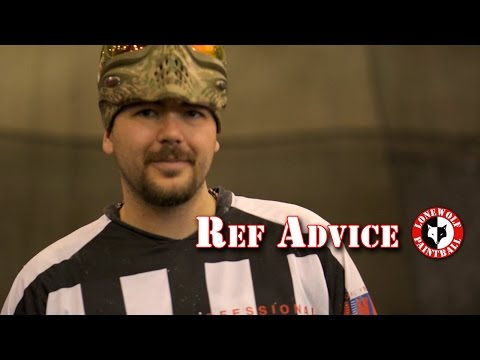 New Player Advice from Ref George Tilli Lone Wolf Paintball Indoor Michigan