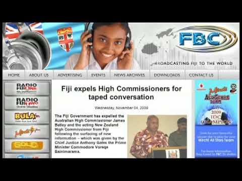 Radio Fiji - Audio of Australian visa officer
