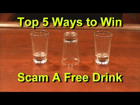 Top 5 Ways to Win Scam a Free Drink Top Five Bar Tricks Bets Scams