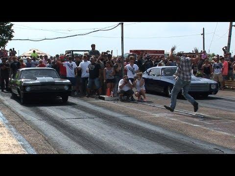 BIG TIRE Outlaw Track DRAG RACING - JJdaBoss Arm Drop