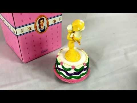 Schmid Disney Lumiere Candlestick Music Box Tune