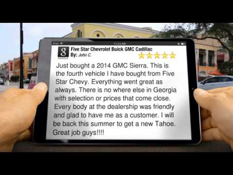 Five Star Chevrolet Buick GMC Cadillac Reviews Warner Robins GA | Superb 5  Star Review By John C.