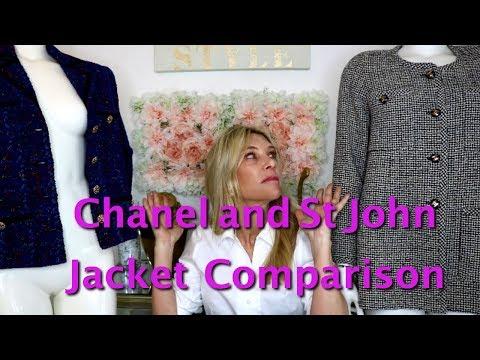 Chanel Vs. St John Jackets