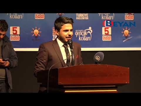 AK Parti Kahta Gençlik Kolları 5. Olağan Kongresi Yapıldı