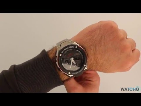 WatchO.co.uk - G-Shock G-Steel Radio Solar Watch GST-W100D-1A4ER  | Unboxing & Close Look