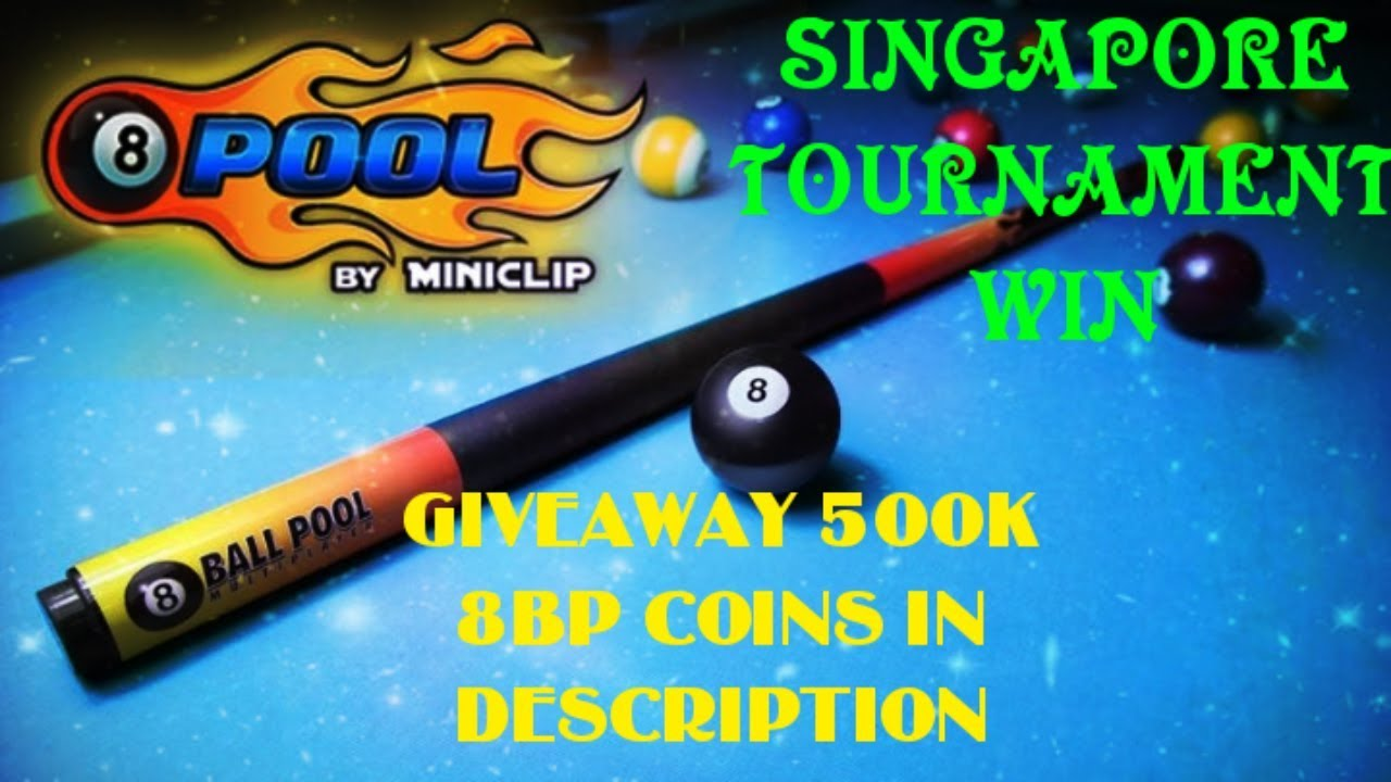 8 BALL POOL 500K COINS IN DESCRIPTION  dcfa36d74d44