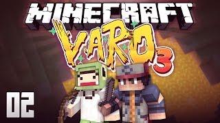 Minecraft VARO 3 #2 - DIE VERSTECKTE HÖHLE! #unfazbar