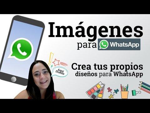 Crea tus propias imagenes para WhatsApp | Ideal imagen de perfil